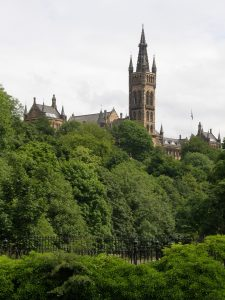 Glasgow University in West End