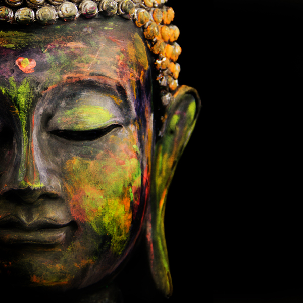 Mindfulness Now training programme image of the Buddha.